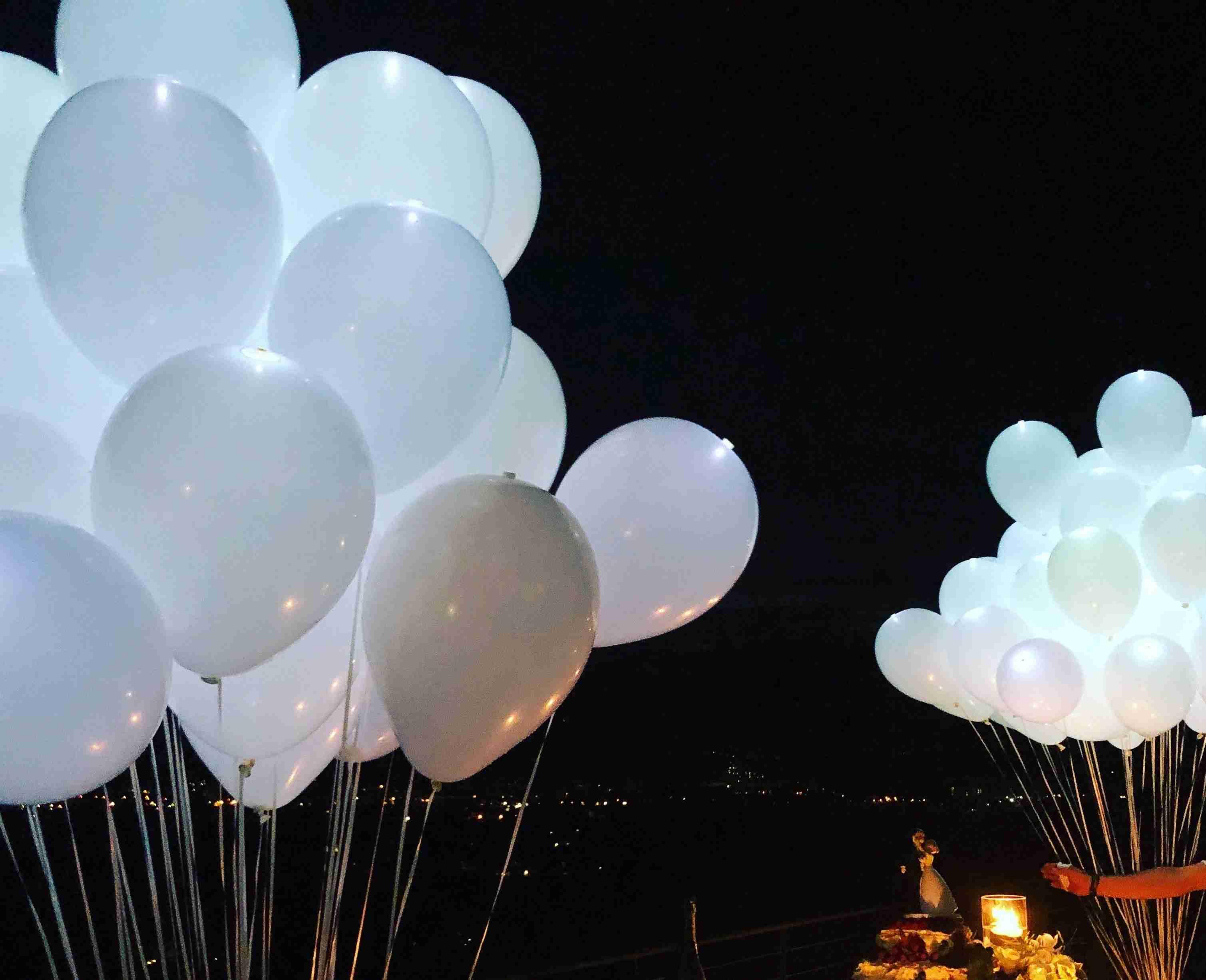 palloncini luminosi padova