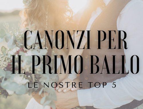 Canzoni per il primo ballo sposi: le 5 più richieste